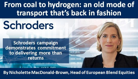 From coal to hydrogen: an old mode of transport that's back in fashion