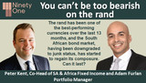 You can't be too bearish on the rand