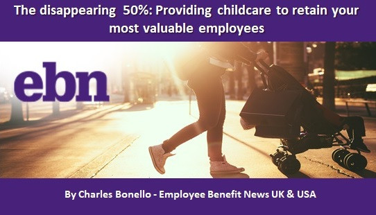 The disappearing 50%: Providing childcare to retain your most valuable employees