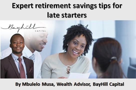 Expert retirement savings tips for late starters