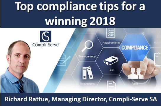 Top compliance tips for a winning 2018
