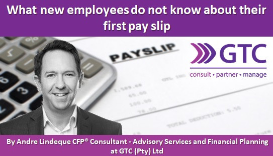 What new employees do not know about their first pay slip