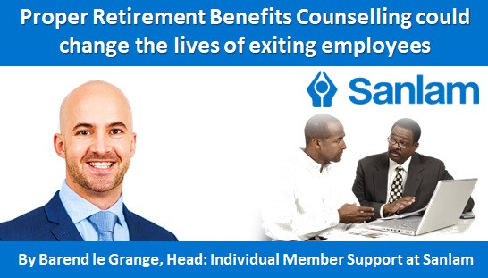 Proper Retirement Benefits Counselling could change the lives of exiting employees