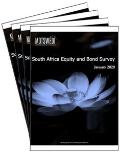 Motswedi Emerging Manager Strategists January 2020 Equity and Bond survey