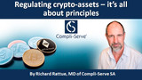 Regulating crypto-assets – it's all about principles