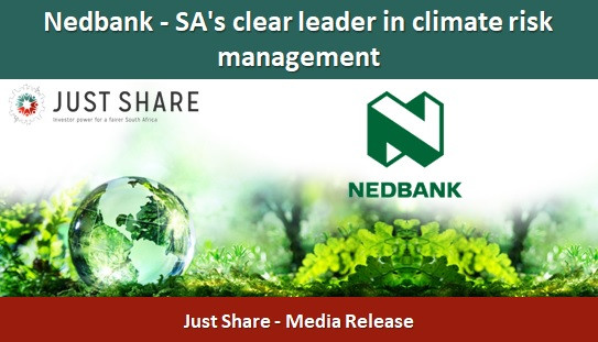 Nedbank - SA's clear leader in climate risk management