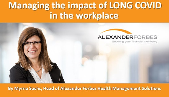 Managing the impact of LONG COVID in the workplace