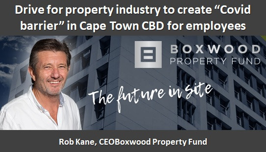 """Drive for property industry to create """"Covid barrier"""" in Cape Town CBD for employees"""