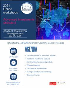 Advanced Investments (Module II) 25th Ma