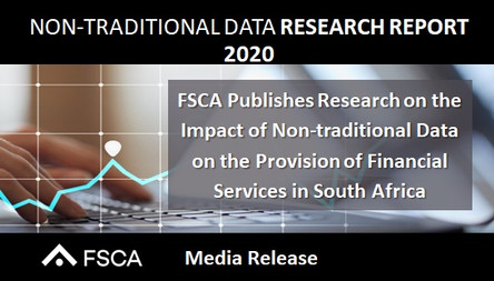 NON-TRADITIONAL DATA RESEARCH REPORT 2020