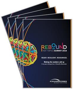 Alexander Forbes Rebound Hot Topics Summit 2019