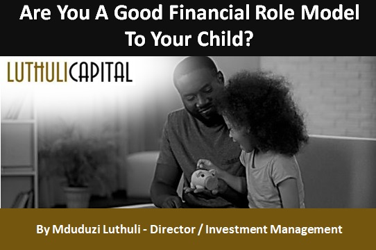 Are You A Good Financial Role Model To Your Child?