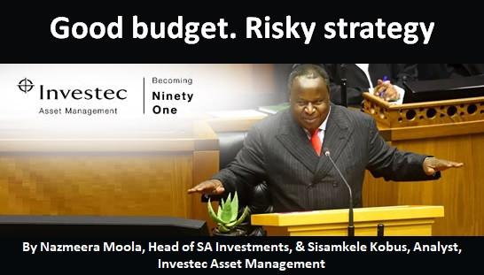 Good budget. Risky strategy