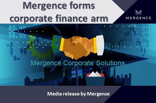 Mergence forms corporate finance arm