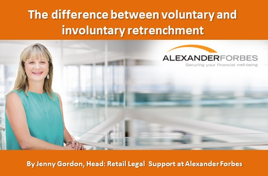 The difference between voluntary and involuntary retrenchment