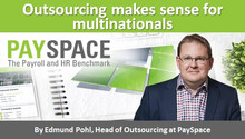 Outsourcing makes sense for multinationals