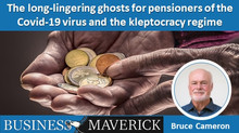 The long-lingering ghosts for pensioners of the Covid-19 virus and the kleptocracy regime