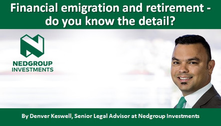 Financial emigration and retirement - do you know the detail?