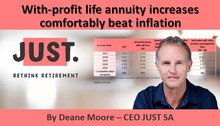 With-profit life annuity increases comfortably beat inflation