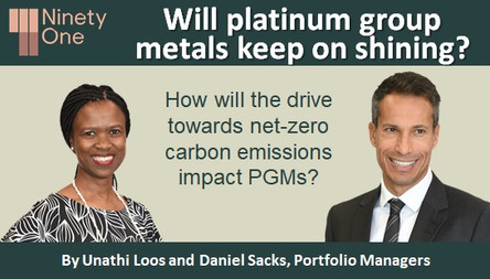 Will platinum group metals keep on shining?