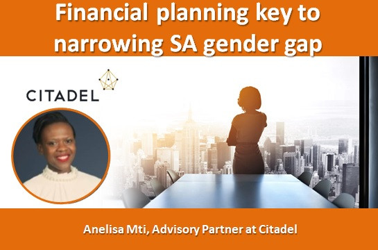 Financial planning key to narrowing SA gender gap
