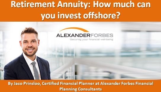 Retirement Annuity: How much can you invest offshore?