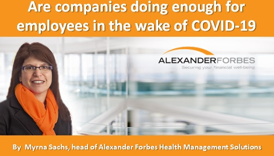 Are companies doing enough for employees in the wake of COVID-19