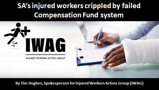 SA's injured workers crippled by failed Compensation Fund system