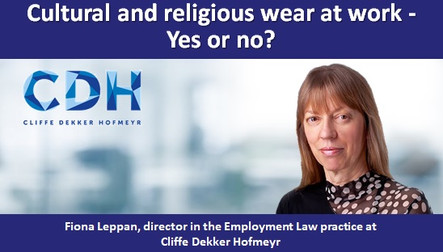 Cultural and religious wear at work - Yes or no?