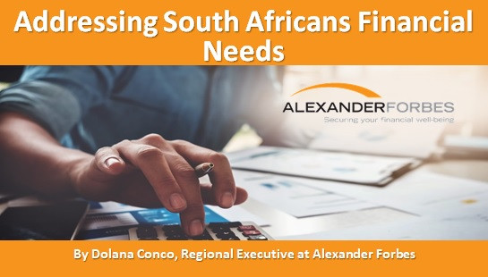 Addressing South Africans Financial Needs