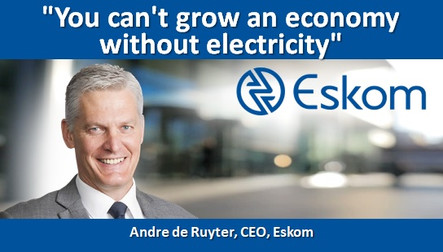 You can't grow an economy without electricity
