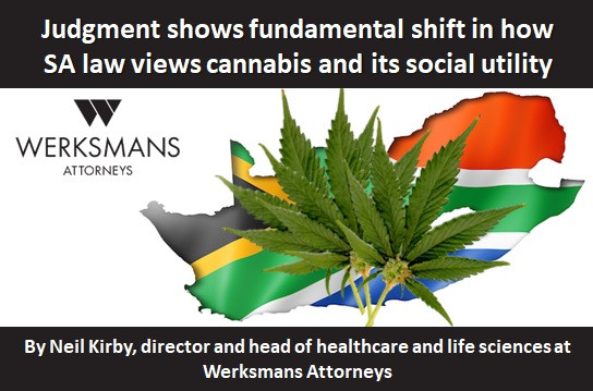 Judgment shows fundamental shift in how SA law views cannabis and its social utility