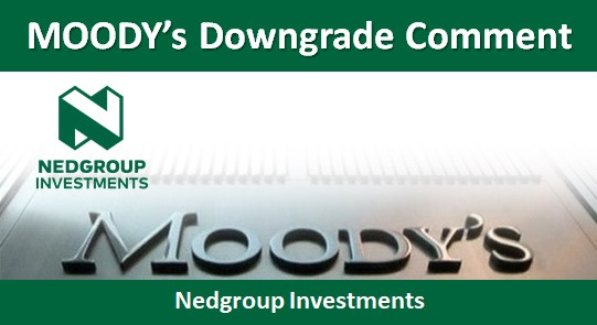 MOODY's Downgrade Comment