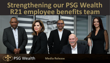 Strengthening our PSG Wealth R21 employee benefits team