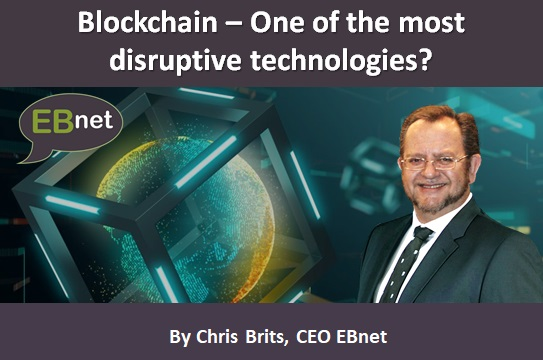 Blockchain – One of the most disruptive technologies?