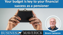 Your budget is key to your financial success as a pensioner