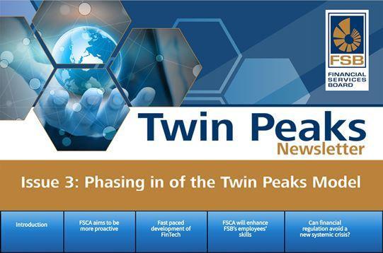Twin Peaks Newsletter Issue 3 - Phasing in of the Twin Peaks Model