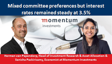 Mixed committee preferences but interest rates remained steady at 3.5%