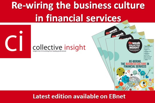 Re-wiring the business culture in financial services