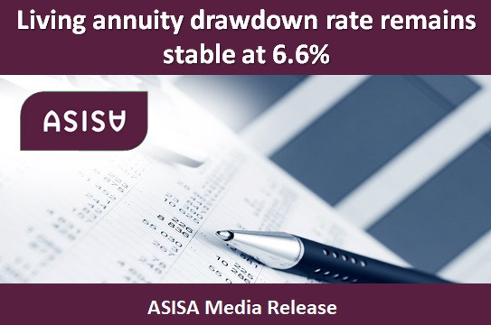 Living annuity drawdown rate remains stable at 6.6%