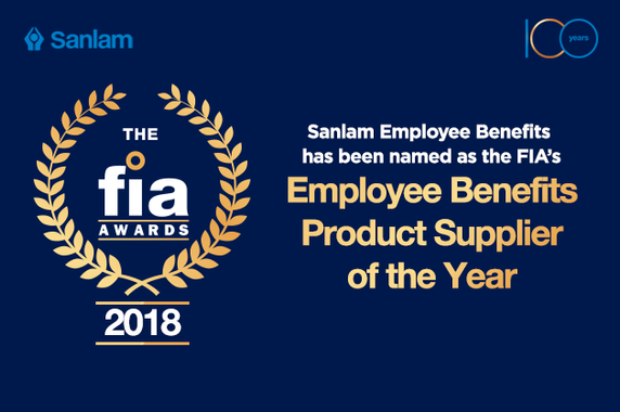 Sanlam wins FIA Product Supplier of the Year