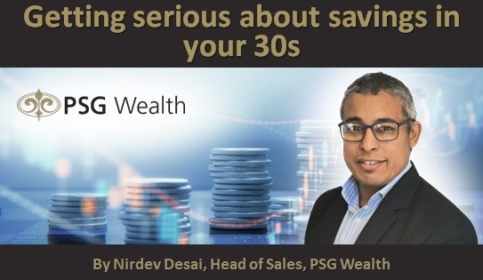 Getting serious about savings in your 30s
