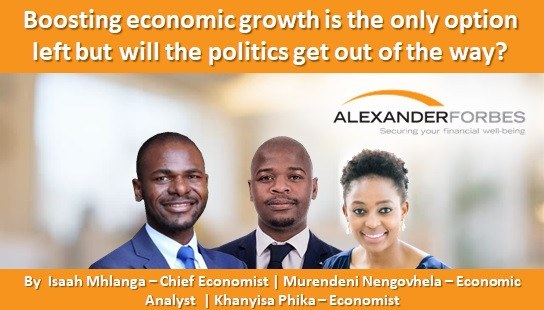 Boosting economic growth is the only option left but will the politics get out of the way?