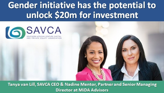 Gender initiative has the potential to unlock $20m for investment