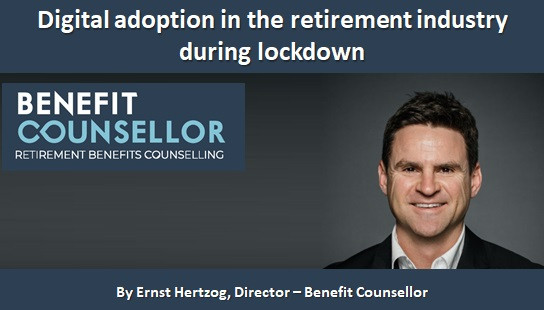 Digital adoption in the retirement industry during lockdown