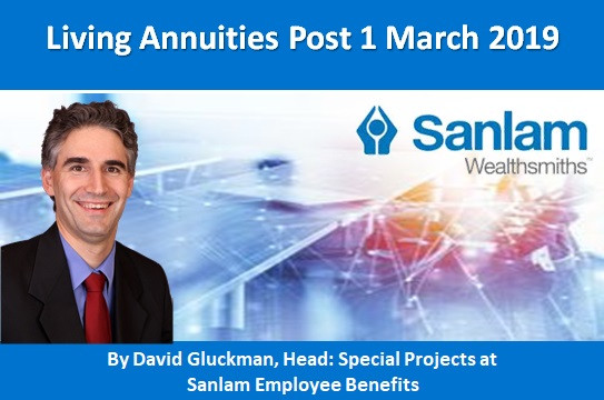 Living Annuities Post 1 March 2019