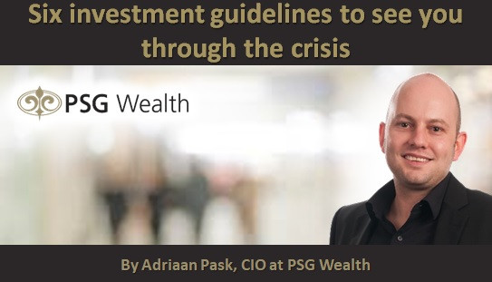 Six investment guidelines to see you through the crisis