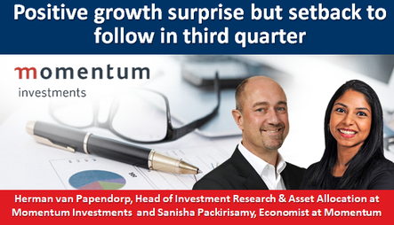Positive growth surprise but setback to follow in third quarter