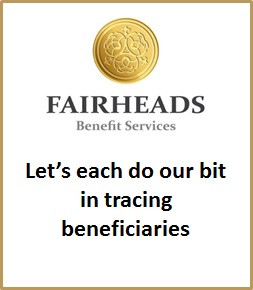 Let's each do our bit in tracing beneficiaries