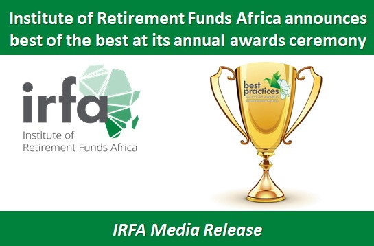 Institute of Retirement Funds Africa announces best of the best at its annual awards ceremony